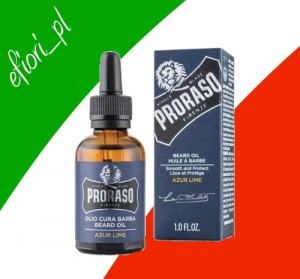 PRORASO Olejek do brody Azur Lime 30ml